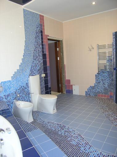 Дизайн ванных комнат.
